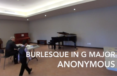 Daniel D – Burlesque in G Major
