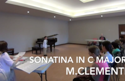 Kenneth – Sonatina in C Major